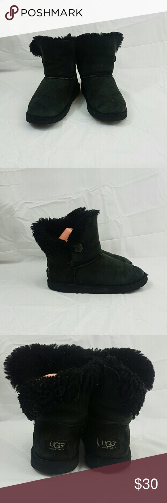 Black UGG Australia girls boots These shoe are in fair used condition. There is some wear on soles as shown in photos. Please look closely at the photos to judge condition for yourself. UGG Shoes Rain & Snow Boots #uggbootsoutfitblackgirl Black UGG Australia girls boots These shoe are in fair used condition. There is some wear on soles as shown in photos. Please look closely at the photos to judge condition for yourself. UGG Shoes Rain & Snow Boots #uggbootsoutfitblackgirl