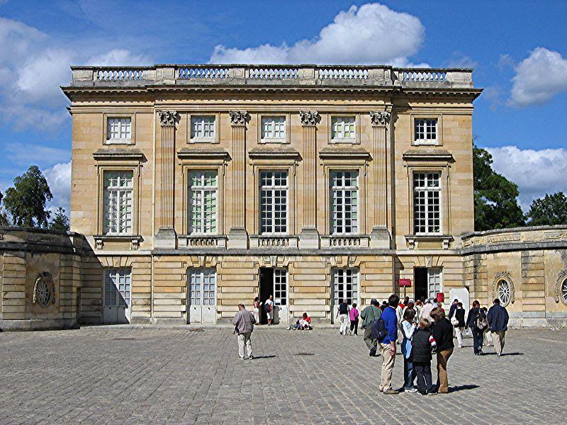 Petit Trianon - façade est  - XVIIIème