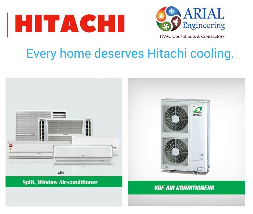 Every Home Deserves Hitachi Cooling Hvac Vrf Arial