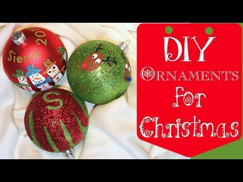 Christmas Ornaments Under 5 Diy Youtube Diy Christmas Ornaments Photo Christmas Ornaments Diy Christmas Keepsakes