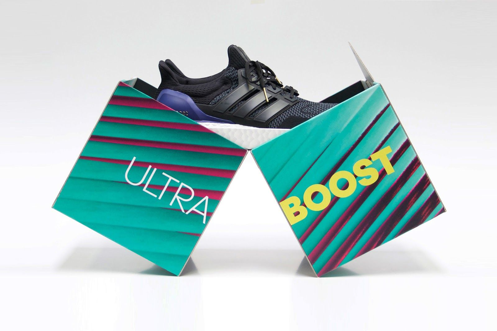 adidas - Ultra Boost on Packaging of the World - Creative Package Design Gallery