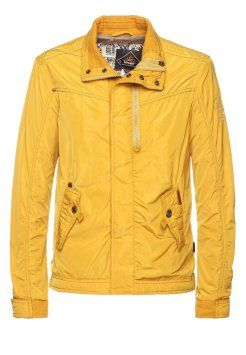 khujo - RIOT - Leichte Jacke - yellow #khujo #jacke #herrenmode