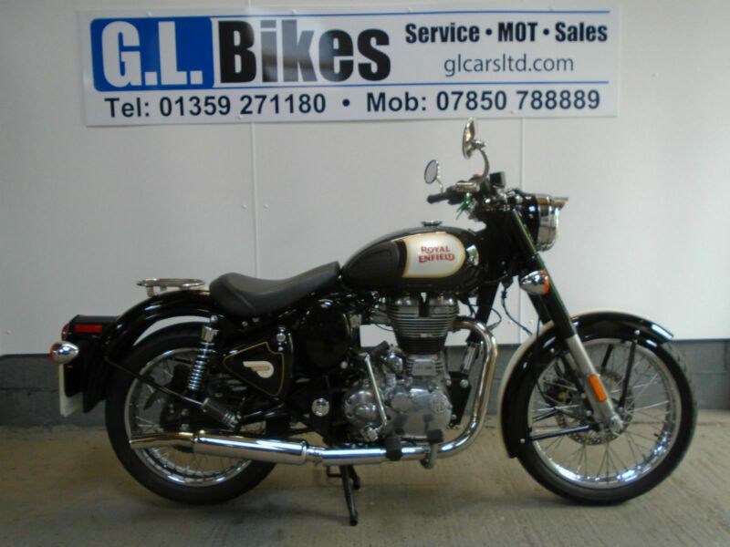 Royal Enfield Bullet 500 Classic 12 Months Warranty 84 P M Finance Thecustommotorcycle Co Uk Royal Enfield Bullet Enfield Bullet Royal Enfield