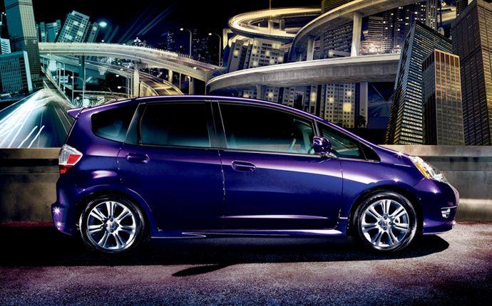 My Purple Honda Fit Hello Sophia Brianna Isms D Honda Jazz