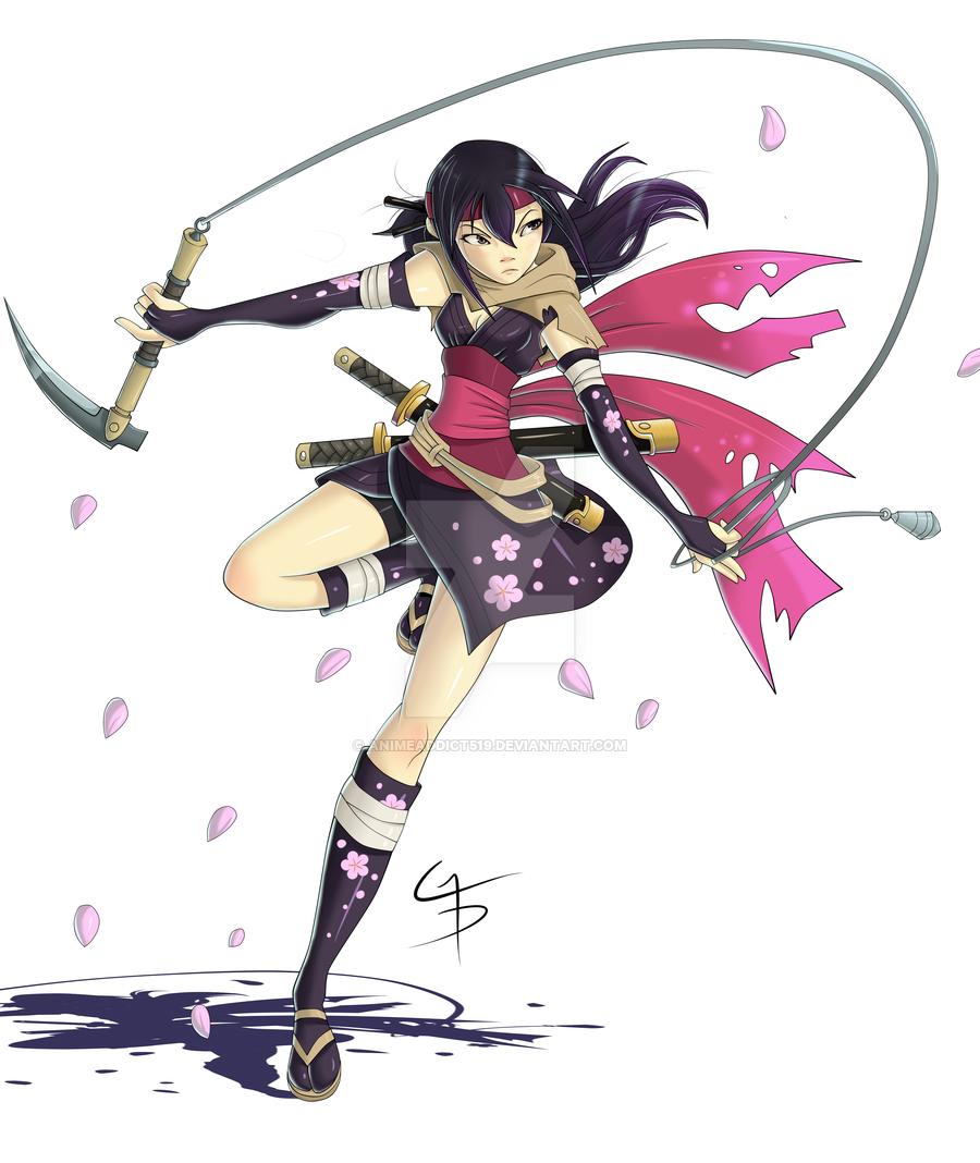 Mysterious Ninja Girl.. by MadiBlitz on DeviantArt   Ninja girl, Magical girl  anime, Cat girl