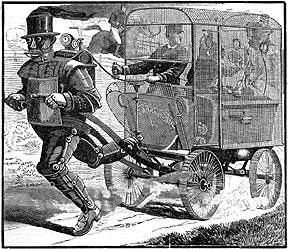 The Steam Man was created in 1868 by famed inventor John Brainerd. As the world's first robot, its significance cannot be overestimated.