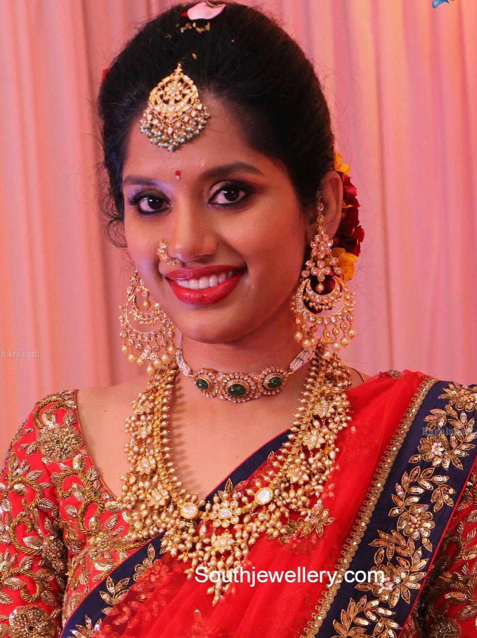 Guttapusalu Haram And Polki Chandbalis Latest Jewelry Designs Jewellery Designs Indian Jewellery Design 22 Carat Gold Jewellery Bridal Jewellery Indian,Sri Lanka Bathroom Designs Photos