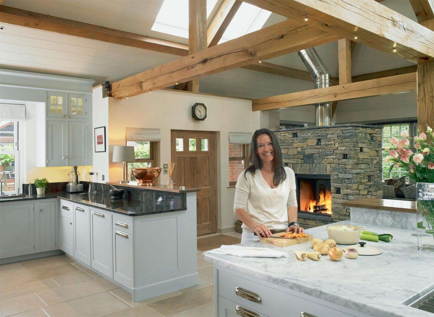 Real home an open plan kitchen extension to a Victorian