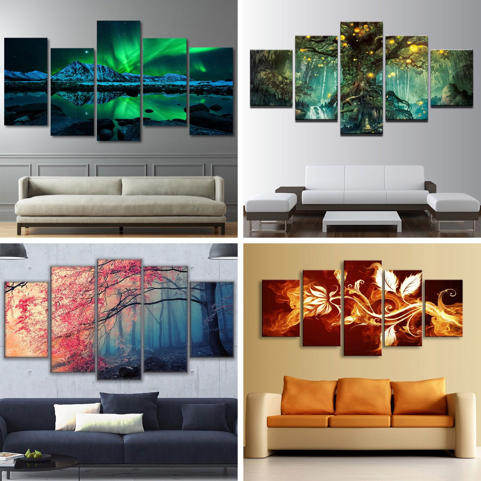 best wall arts for home decor home improvement wallart on modern acrylic paintings for living room id=85809