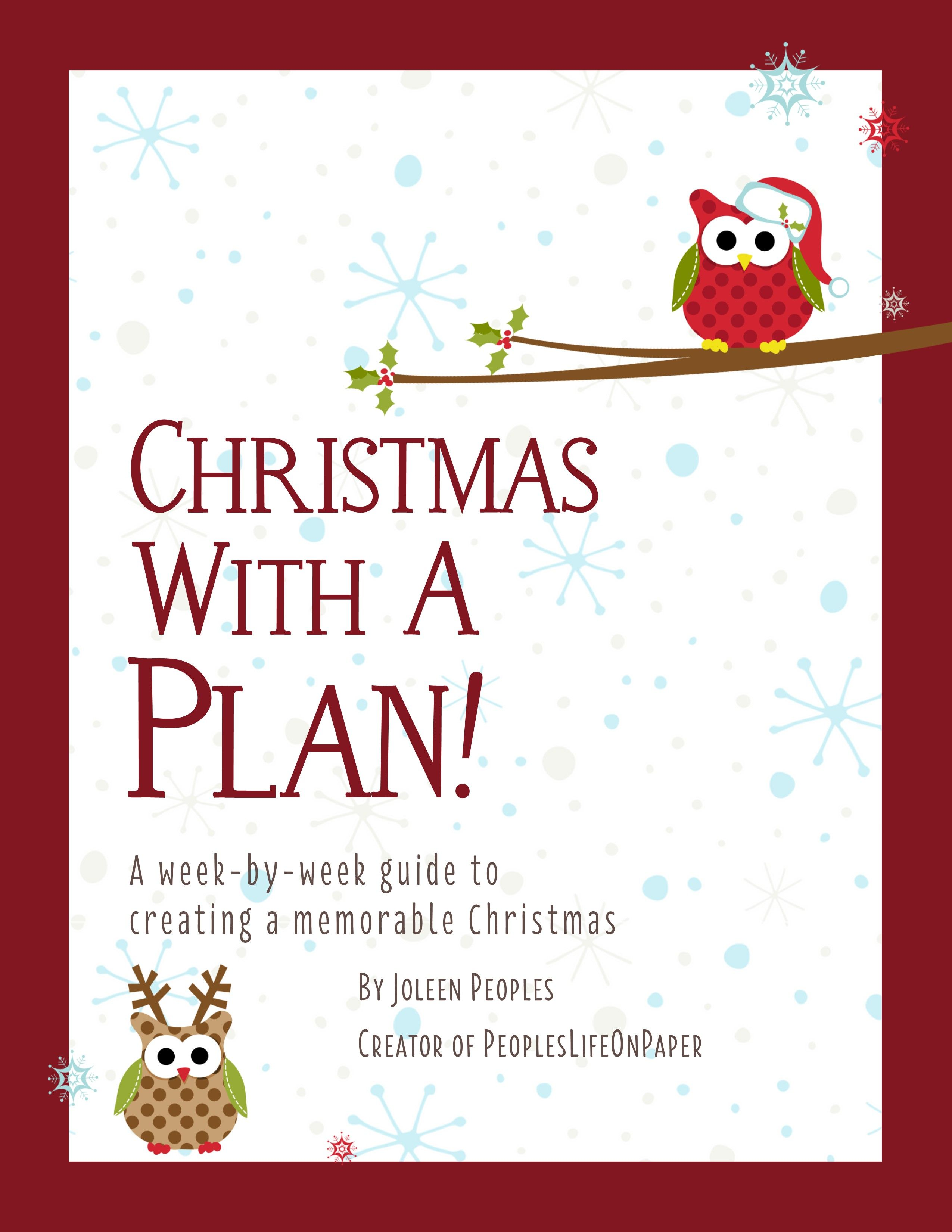 Christmas Planner To Help You Get Organized For And Enjoy