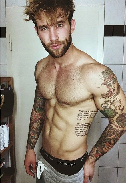 Hipster men | Beards Grrrr :3 | Pinterest | Tattoos, Tattoos for ...