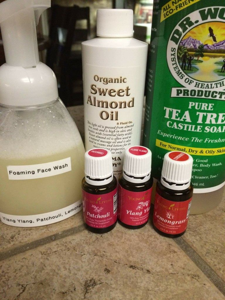 Foaming face wash essential oil recipes foaming face