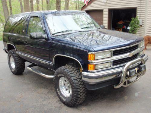 1994 Chevrolet Blazer Silverado 1500 Med Bilder Saker Att Kopa