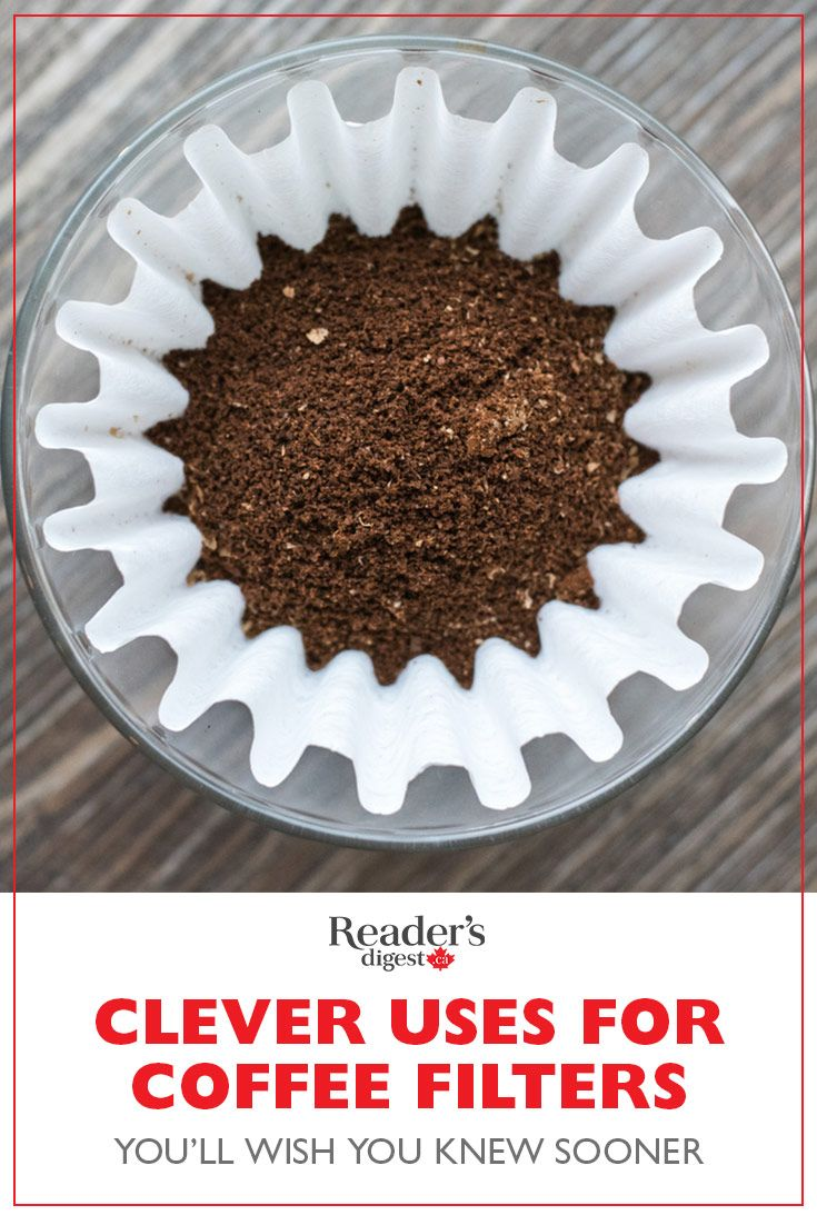coffee filter replacement life hack
