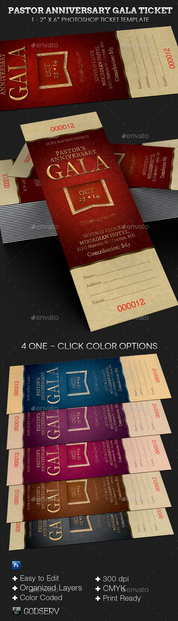 Pin by best Graphic Design on Ticket Templates Pastor