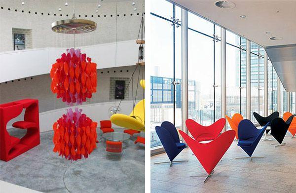 Verner Paton, Móveis e Cadeira heart Cone