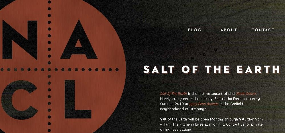 70 Attractive Examples Of Big Typography In Web Design Typography Web Design The Neighbourhood