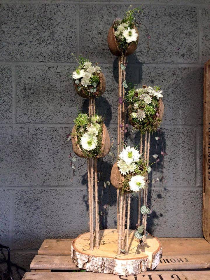 Composition de Sylvie Cox pour la boutique création florale