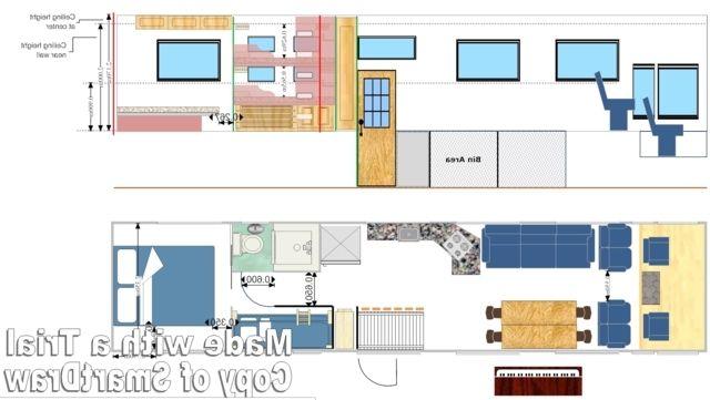 Camper Flooring Floor Plan