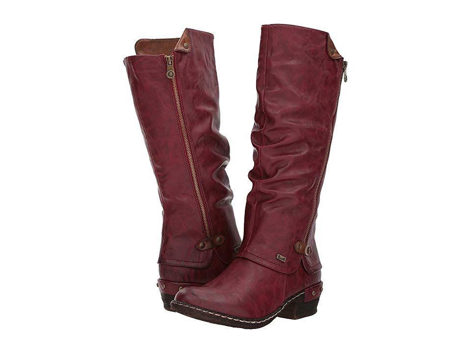 Rieker 93655 (VinoKastanie) Women's Dress Boots. Set out
