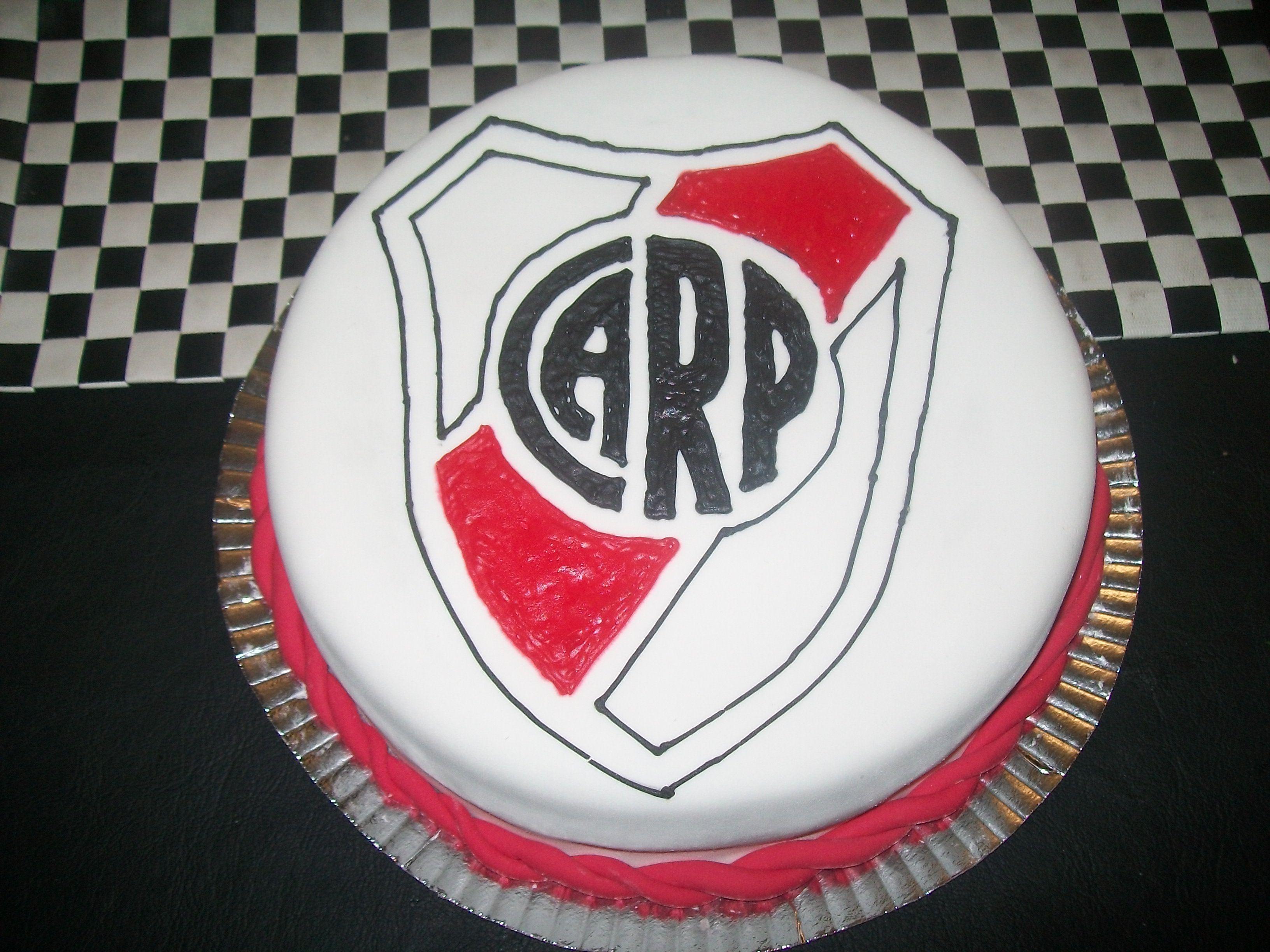 River Plate: Torta Escudo De River Plate