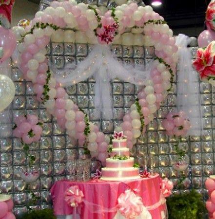 Decoraci n en globos para quince a os decoraci n y for Adornos de quince anos
