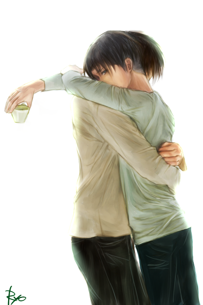 I don't like Yaoi. But this is so damn cute ^^'