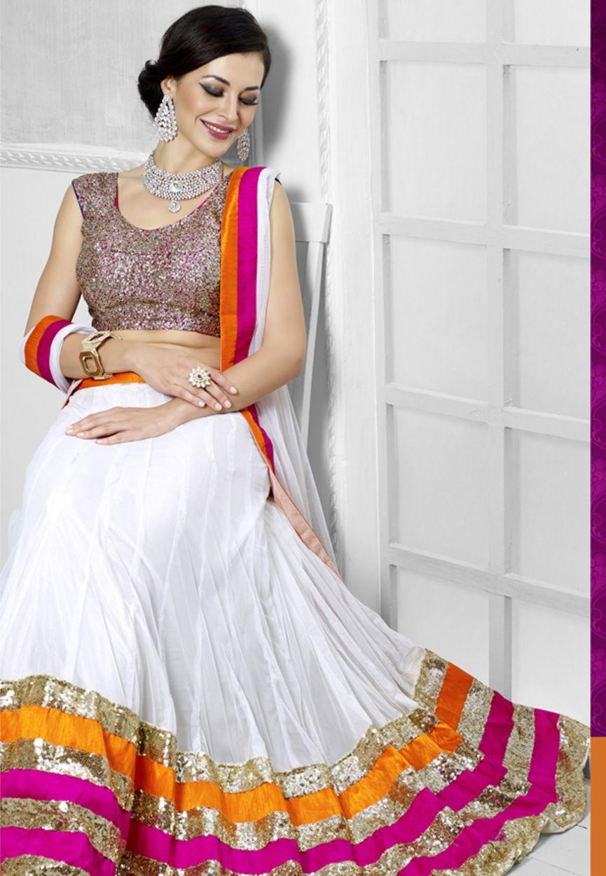13074f0f8f Top Beautiful Lehenga And Choli Designs For Indian Women | Saree in ...
