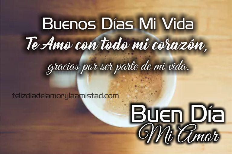 Frases De Buenos Dias Romanticas Etiquetas Pinterest Buenos