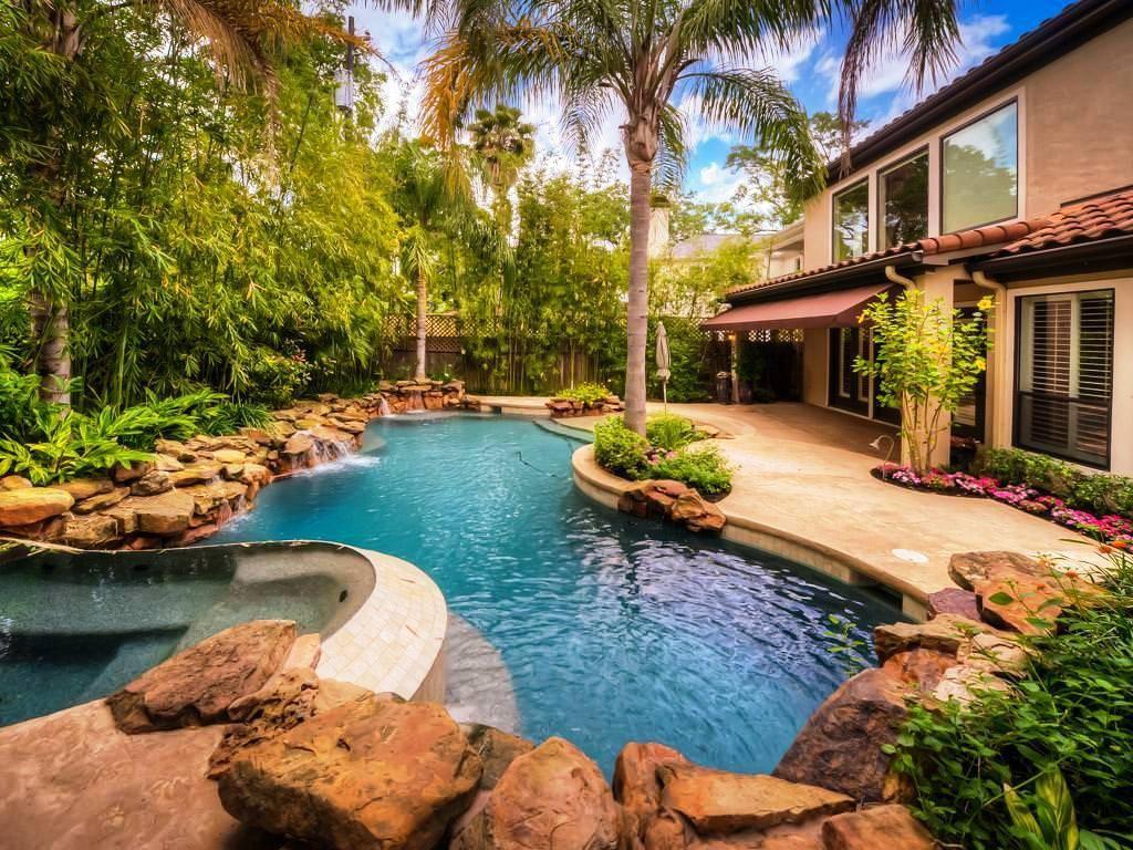 Backyard Oasis Design Ideas Backyard Pool Backyard Oasis