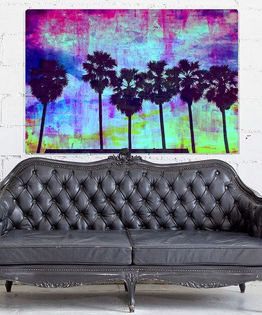 Love this Palm Valley Dawn Wrapped Canvas on #zulily! #zulilyfinds
