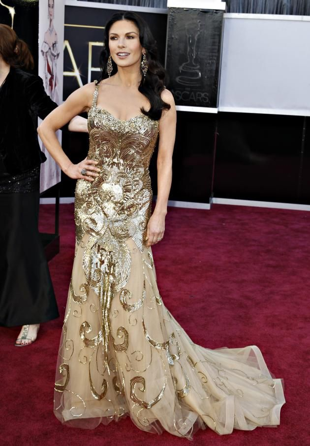 Oscars 2013 Red Carpet Best And Worst Dressed Celebrities On Hollywood S Big Night Photos Red Carpet Dresses Best Celebrity Dresses Nice Dresses