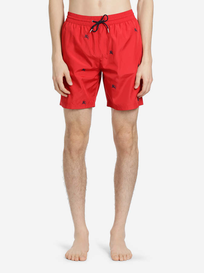 d46184a292 Burberry RED ARCHIVE LOGO DRAWCORD SWIMSHORTS in 2019 | Products ...