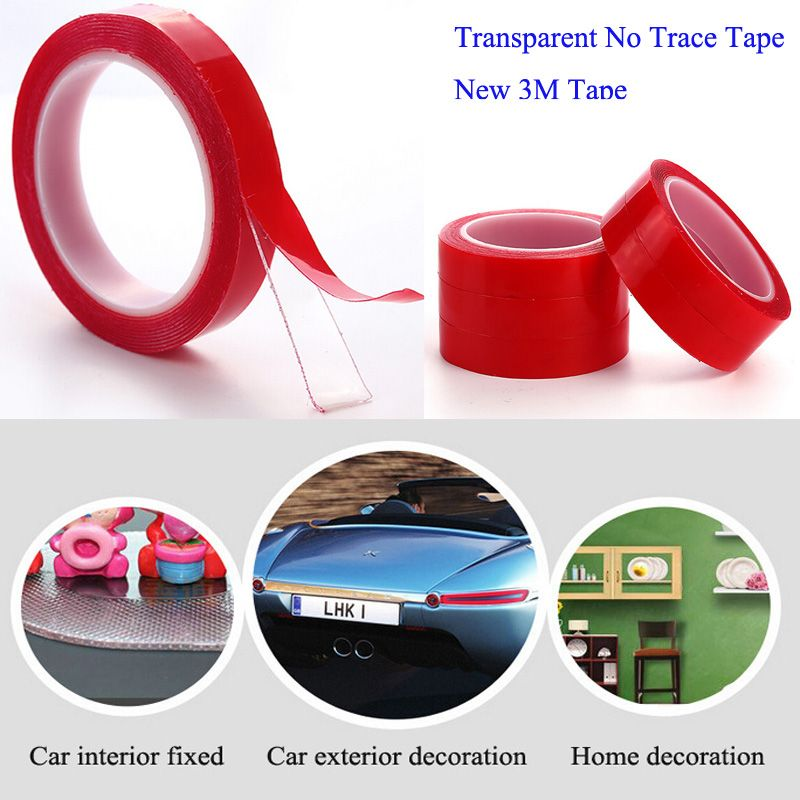 carstyling doublesided tape Acrylic Transparent no trace 3M Tape