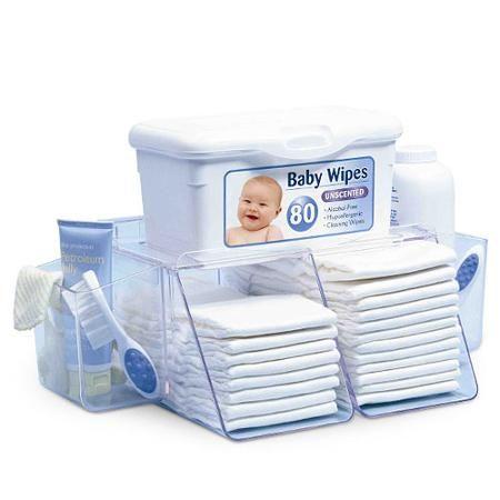Prince Lionheart Dresser Top Diaper Depot Organizer