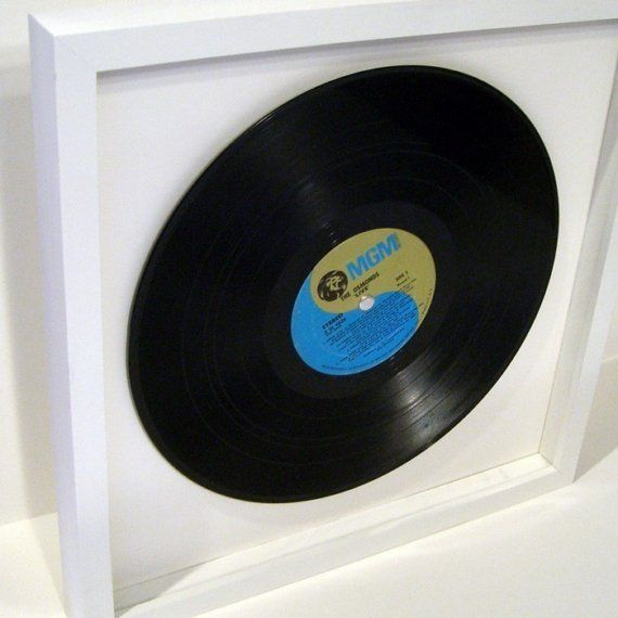 Vinyl Record Shadow Box Frame Handmade Poplar Hardwood Etsy Shadow Box Frames Framed Records Shadow Box