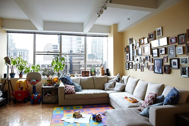 Image of A Look Inside Coltrane Curtis's TriBeCa Apartment.