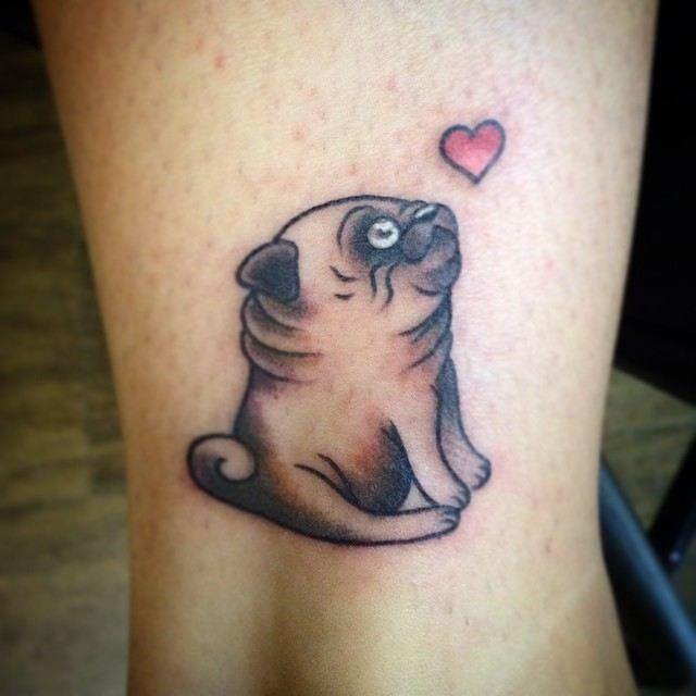 dog tattoo 640 640 tattoo pinterest tattoo pug tattoo and tatt. Black Bedroom Furniture Sets. Home Design Ideas