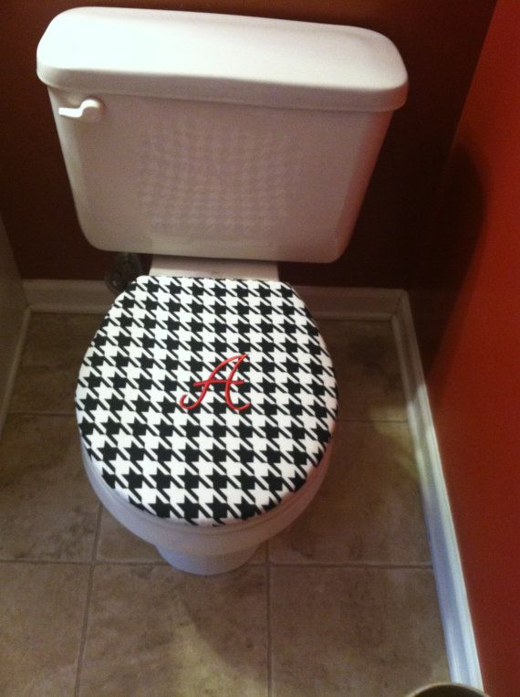 Reversible Alabama Toilet Seat Cover By Sewkimburly On
