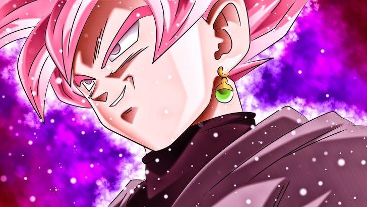 Goku Black Super Saiyan Rose Dragon Ball Super Wallpaper Dragon Ball Desenhos De Anime Dragon