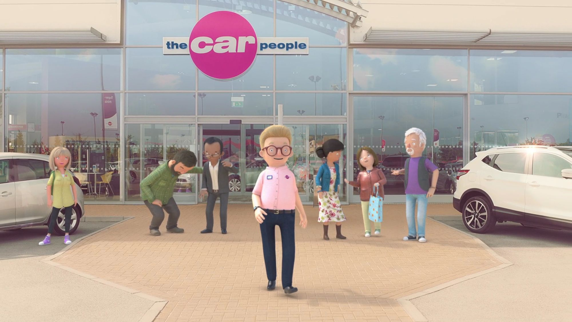 Render from the Car People 'Quality and Value' animation