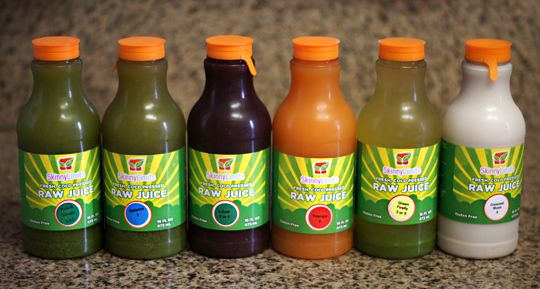 Skinny Limits, based in Austin, Texas. The juices from Skinny Limits are fresh and unpasteurized, leaving all of the enzymes and nutrients in tact.