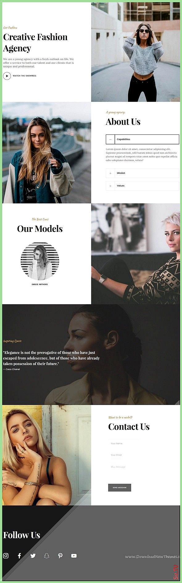 Bezel  Creative Multi-Purpose HTML Template agency architecture blog business corporate creative fit...
