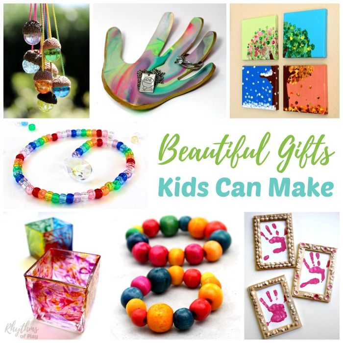 Handmade Craft Ideas For Kids Part - 45: Handmade Gifts Kids Can Make For Family And Friends