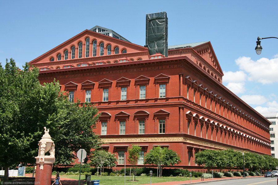 National Building Museum, Washington DC in 2020