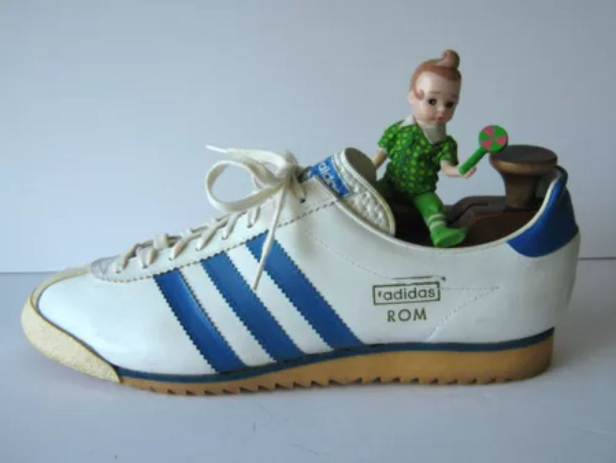 alcanzar Proceso olvidar  Vintage 70s ADIDAS ROM Trainers West Germany Vienna Rekord Olympia Mens  Size 9   Adidas, Trainers, Vintage 70s