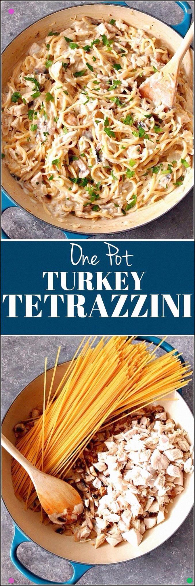 Photo of One Pot Turkey Tetrazzini Recipe – Quick And Easy Dish With …