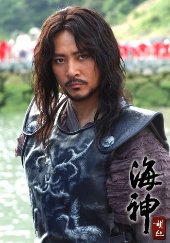"""Emperor of the Sea (Hangul: 해신; RR: Hae-sin; literally """"Sea God"""") is a 2004 South Korean television drama series starring Choi Soo-jong, Chae Shi-ra, Song Il-gook and Soo Ae. It aired on KBS2  for 51 episodes. The period drama is based on Choi In-ho's 2003 novel Hae-sin, which depicts the life of Jang Bogo, who rises from a lowly slave to a powerful maritime figure who dominated the East Asia seas and international trade during the Unified Silla Dynasty. 장보고 죄수종"""