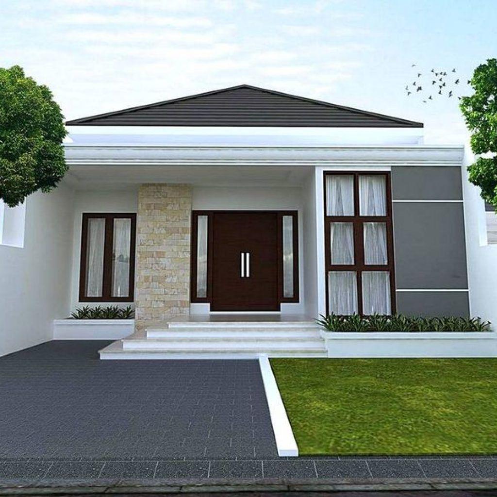 Foto Rumah Minimalis Tampak Depan Dengan Batu Alam Rumah Minimalis Arsitektur Rumah Batu
