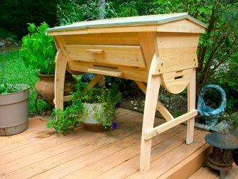 Genial Custom Top Bar Hive Is Made Of Western Red Cedar. Www.beefriendlyhives.com
